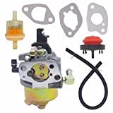 NIMTEK 951-10974A Carburetor with Fuel Filter Primer Bulb for MTD Troy Bilt Cub Cadet Snow Blower 951-10974 951-12705