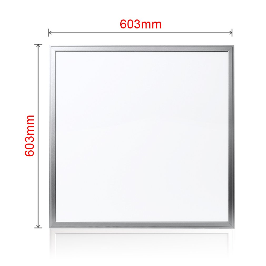 Anten 40w 2x2ft24x24 Flat Square Dimmable Led 0 10v Dimming Wiring Diagram Downlight Recessed Ceiling Light Panel Lamp With Aluminum Frame 3600lm Smd2835