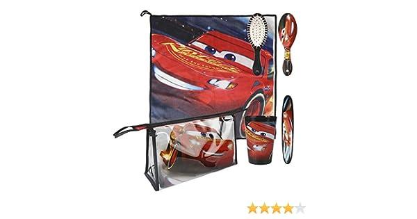 Cars 3 3 Set Neceser higiene Comedor Escuela (Artesanía Cerdá 2500000802): Amazon.es: Juguetes y juegos