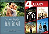 Moonstruck & You've Got Mail / When Harry Met Sally / Rain Man / Princess Bride DVD Romantic movie Set 5 pack Family collection