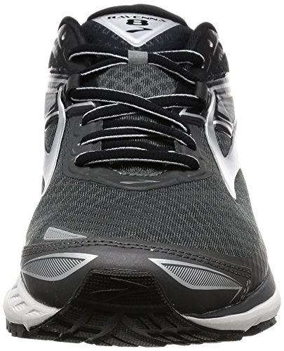 Brooks Mens Ravenna 8 Antracite / Argento / Nero
