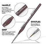 Nicpro Micro Detail Paint Brush Set,15 Small