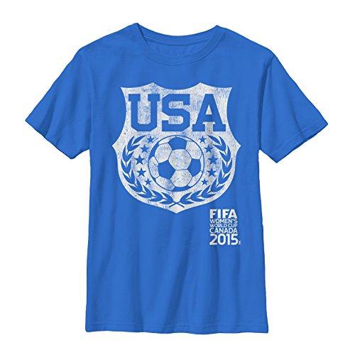 FIFA Womens World Cup Canada 2015 USA Shield Boys S Graphic T Shirt - Fifth Sun