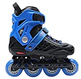 Outdoor Inline Skates Adults Blue , 41