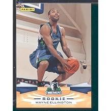 2009 /10 Panini NBA Basketball Card # 378 Wayne Ellington Minnesota Timberwolves Mint Condition