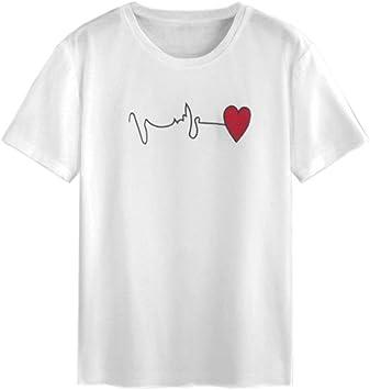 white t shirt red heart