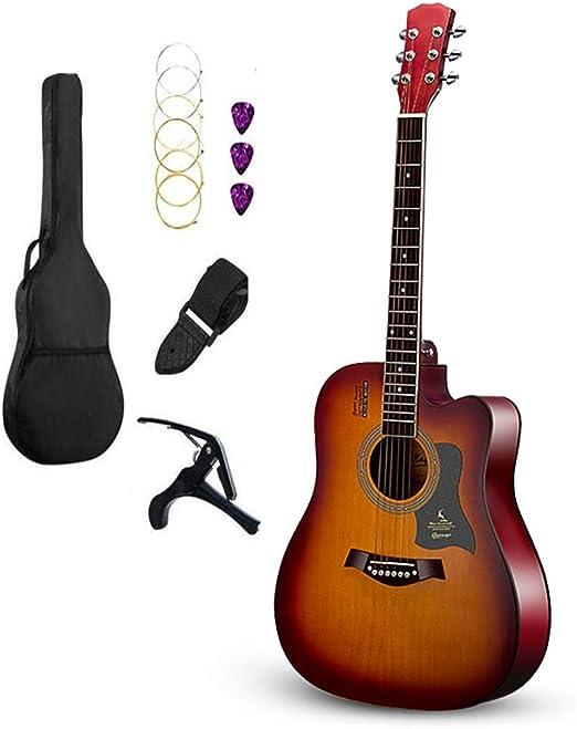 BAIYING-Guitarra Acústica Guitarra Clasica, Práctica Estudiantil ...