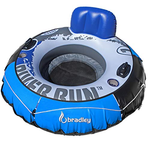 Intex Heavy Duty River Run Tube with Cover | Floating Lounger | River Tube ()