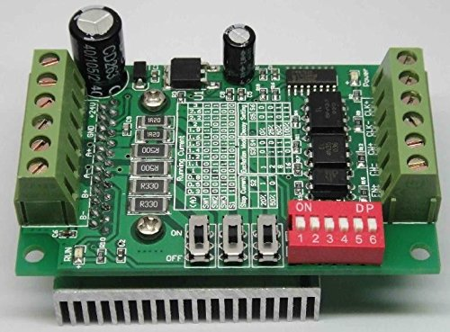 Exiron 5pcs Good CNC Router Single 1 Axis Controller Stepper Motor Drivers TB6560 3A
