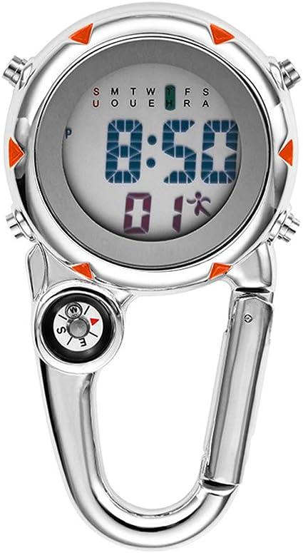 Reloj de Pantalla Digital Multifuncional Clip Luminoso en ...