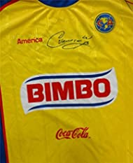 Cuauhtemoc Blanco Autographed Hand Signed Club America Las Aguilas Jersey  PSA DNA  H37680 7f95db697