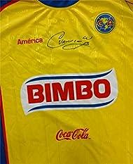 sale retailer caf0e e9a99 Cuauhtemoc Blanco Autographed/Hand Signed Club America Las ...
