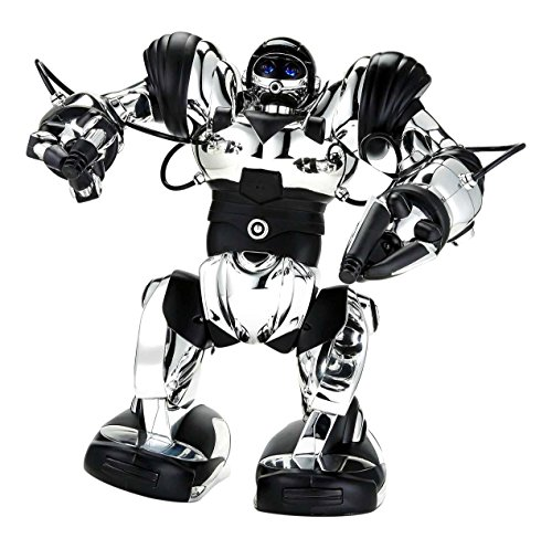 WowWee-Robosapien-X-Humanoid-Exclusive-Chrome-Figure-Robot-with-Remote-Control