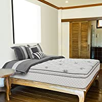 Wolf Corp Legacy Pillow Top 12 Latex and Wrapped Coil Innerspring Mattress,  Full, Bed in a Box, Made in the USA