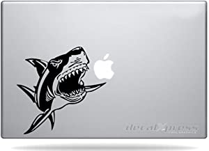 Shark Great White Attak- Decal Sticker for MacBook, Air, Pro All Models