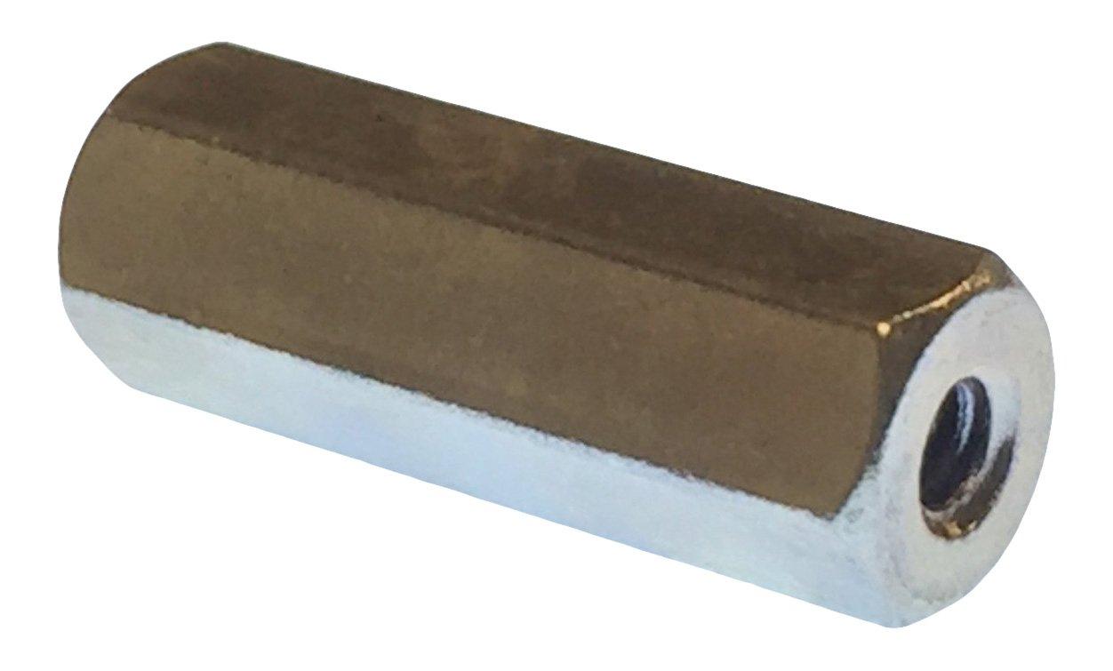 Lyn-Tron Pack of 5 Female Zinc Plated 6-32 Screw Size Steel 0.25 OD 1.562 Length,