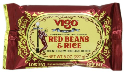 Price comparison product image Vigo Red Beans and Rice, 8-Ounce Pouches (Pack of 12)