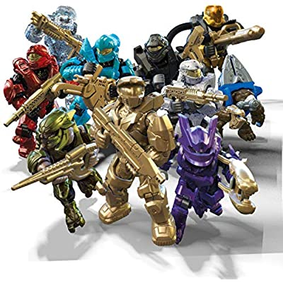 Mega Construx Halo Micro Action Figures: Toys & Games