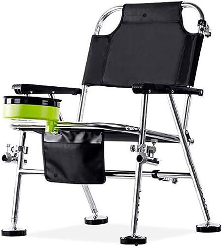 DOLA Silla de Pesca multifunción, sillas de Camping Plegable ...