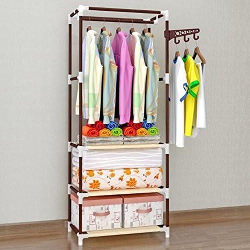 Perchero Revestimiento Escalera de Piso Dormitorio Colgador Colgador Simple Moderno (Color : Marrón): Amazon.es: Hogar