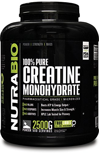 100% Pure Creatine Monohydrate...