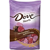 Dove Milk & Dark Chocolate Valentines Hearts 19.52 Oz