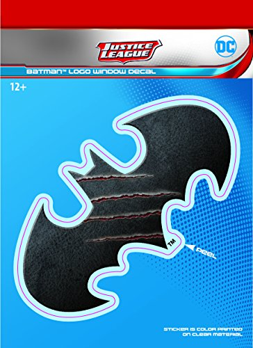 DC Comics ST DCJL BMLOGO1 DC Justice League 6x8 Batman Logo Car Window Decal at Gotham City Store