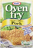 Kraft Oven Fry Seasoned Coating Mix for Pork, Extra Crispy, 4.2 oz(pack of 8)