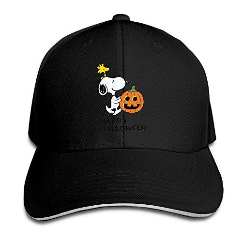 Halloween Pumkin Comic Strip Peanuts Snoopy Adjustable Unisex