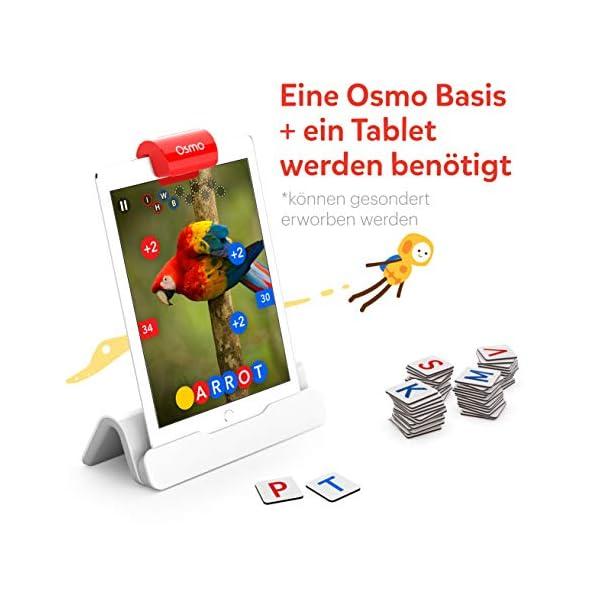 OSMO 901-00041 Genius Starter Kit (Versione tedesca) – Include 5 diversi mondi di apprendimento per bambini da 6 a 10 anni di base e riflettore inclusi 2 spesavip