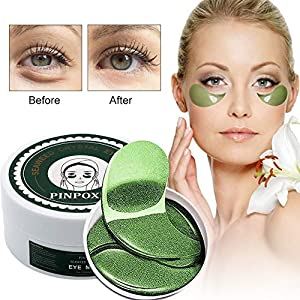 Under Eye Pads, Collagen Eye Mask, Eye Treatment Mask for Puffy Eyes, Eye Patches For Women, Natural Eye Mask with Anti Aging,Dark Circles and Puffiness, Anti Wrinkle, Moisturising, (30 Pairs)