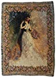 """Always and Forever"" Marriage Wedding Tapestry Throw Blanket 50"" x 70"""