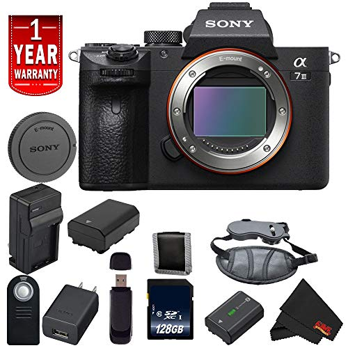 - Sony Alpha a7 III ILCE7M3/B A7M3 Mirrorless Digital Camera International Model Body Base Bundle