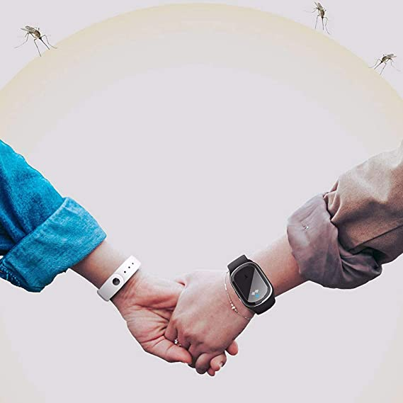 yummyfood M/ückenschutz Armband Ultraschall Insektenschutz Armband Abweisendes Armband Anti M/ücken Armband F/ür /Ältere Menschen Kinder Schwangere Frauen Harmlos