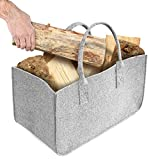 Firewood Basket, Shopping Basket, HomeYoo Felt