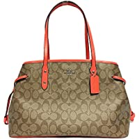 Signature Drawstring Carryall Shoulder Bag F57842