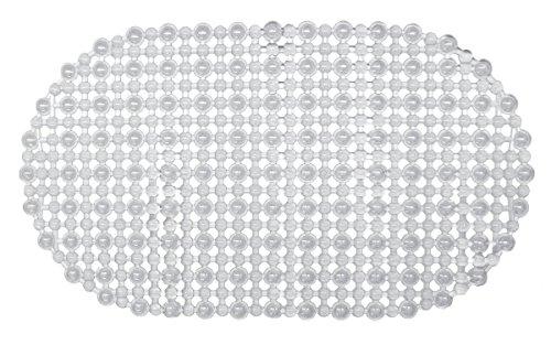 AquaTouch Gemstone Vinyl Bath Mat, Clear 15' x 27'