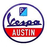 "AF1 Racing / Vespa Austin ""Service"" Decal offers"