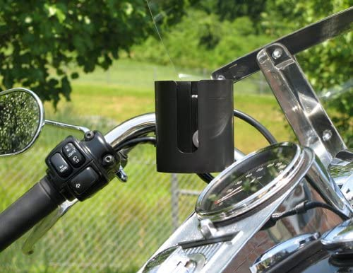 Cool Rider Motorcycle Cup Holder for Gold Wing Bars from Barefoot Willies