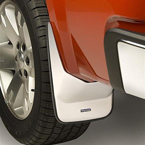 Mud Skins Rear Putco (Putco Stainless Steel Rear Mud Skins for 07-13 GMC Sierra LD w/o Factory Flares)