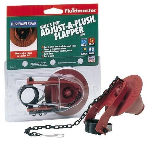 Fluidmaster B502P10 Bulls Eye Flapper Adjust A Flush by Bobrick