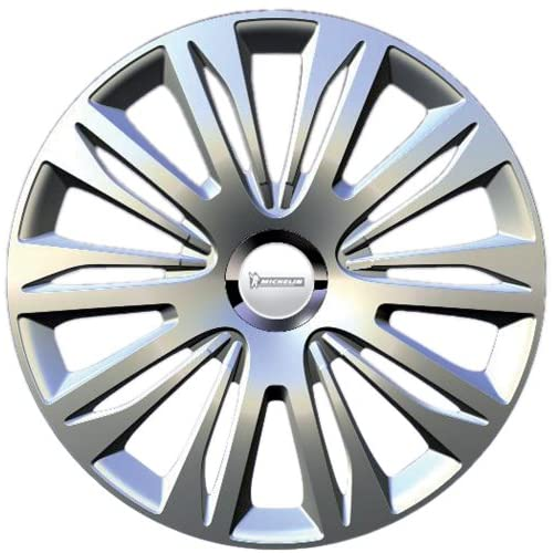 "Michelin 009111 Boite 4 Enjoliveurs 16"" NVS 42 Chrome"