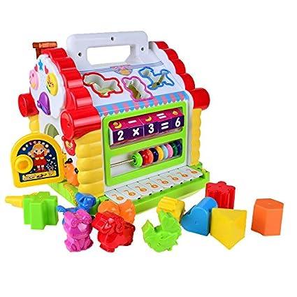 Amazon.com: Juguetes musicales multifuncionales coloridos ...