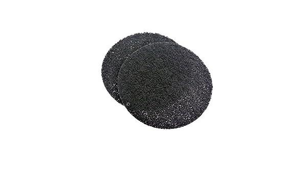 Juego de 2 filtros de carbón para campana extractora thermor shd51df2 hd900b/1: Amazon.es: Hogar