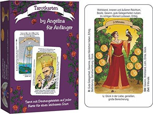 Tarotkarten By Angelina Für Anfänger Tarot Mit Deutungstexten Auf