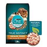 Purina ONE True Instinct Grain Free Natural Dry Cat Food with Real Chicken, 2.86 kg