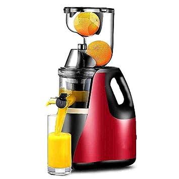 HhGold Exprimidor Exprimidor de Gran diámetro Inicio Multifunción automático Fruta y Verdura Jugo de Fruta frita