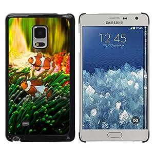TECHCASE**Cubierta de la caja de protección la piel dura para el ** Samsung Galaxy Mega 5.8 9150 9152 ** Fish Tropical Underwater Coral Reed Diving