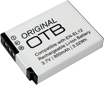 Batería de Repuesto para Nikon Coolpix S610C S6150 S620 S6200 S630 Cámara 1000mAh