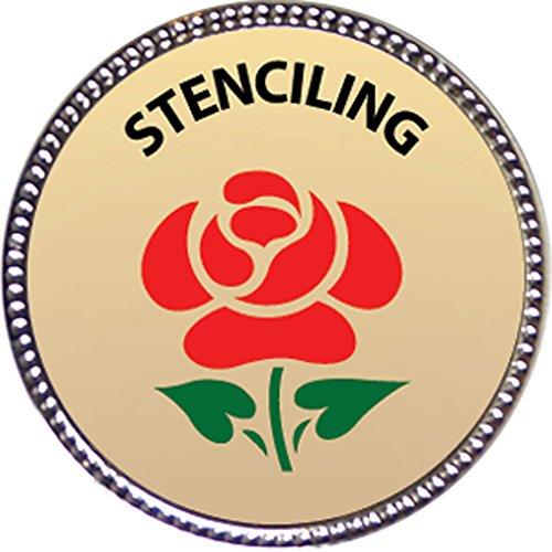 stenciling-award-1-inch-dia-silver-pin-creative-arts-and-hobbies-collection-by-keepsake-awards